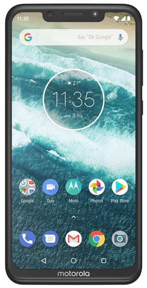 Telefon Motorola ONE, Procesor Octa-Core 2GHz, IPS LCD Capacitive touchscreen 5.9inch, 4GB RAM, 64GB Flash, Camera Duala 13+2MP, Wi-Fi, 4G, Dual Sim, Android (Negru)