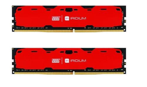 Memorie GOODRAM IRDM, DDR4, 2x4GB 2400MHz (Rosu)