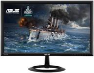 "Monitor Gaming LED Asus 21.5"" VX228H, Full HD, HDMI, VGA, 1 ms GTG, Boxe, Low Blue Light, Flicker Free (Negru)"