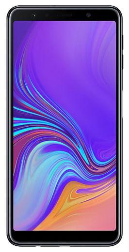Telefon Mobil Samsung Galaxy A7 (2018), Procesor Octa-Core 2.2GHz, Super AMOLED Capacitive touchscreen 6inch, 4GB RAM, 128GB Flash, 24+5+8MP, 4G, Wi-Fi, Dual Sim, Android (Negru)