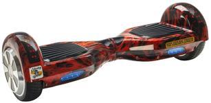Scooter electric (hoverboard) MonkeyBoard Original MK-70 RED WAVER, roti 6.5 inch, telecomanda wireless, bluetooth, geanta de transport, led-uri , lumini de zi/noapte, boxa incorporata, 700 W (Rosu)