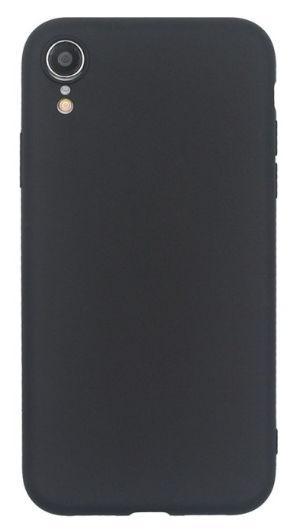 Husa Protectie Spate Just Must Silicon Candy pentru iPhone XR (Negru)