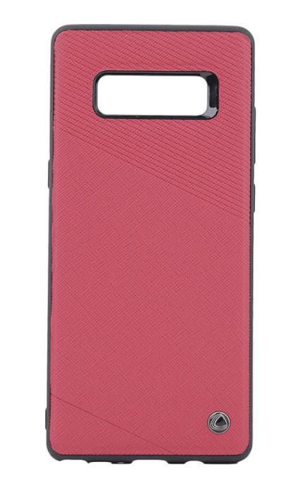 Protectie Spate Occa Exquis Car OCEXCN8RD pentru Samsung Galaxy Note 8 (Rosu)