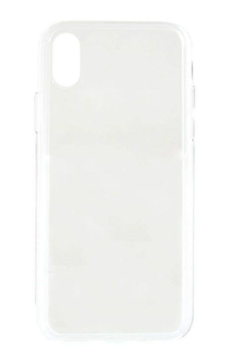 Protectie Spate Meleovo Glass MLVGLIPHXCL pentru iPhone X (Transparent)