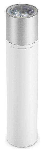 Acumulator extern Xiaomi Mi Power Bank Flashlight 19302, 3250 mAh (Alb) imagine
