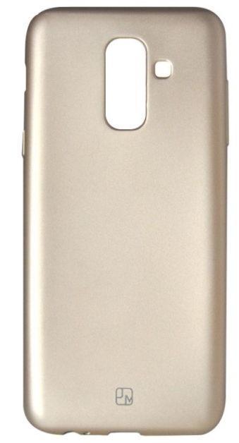 Protectie Spate Just Must Lanker JMLKA605GD pentru Samsung Galaxy A6 Plus 2018 (Auriu)