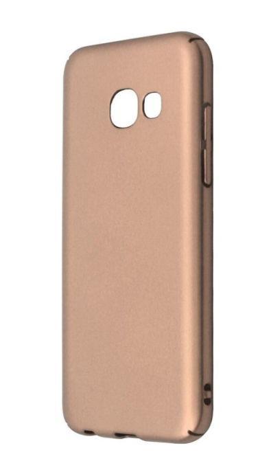 Protectie Spate Just Must Uvo JMUVOA320GD pentru Samsung Galaxy A3 2017 (Auriu)