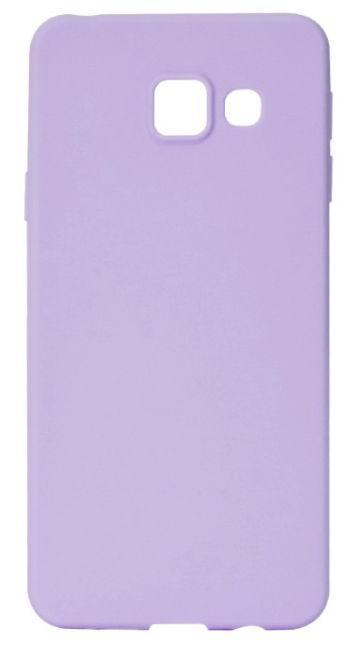 Protectie Spate Lemontti Silky LEMSILSLKA32016M pentru Samsung Galaxy A3 2016 (Mov)