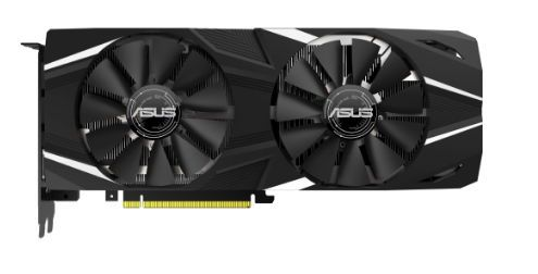 Placa video Asus NVIDIA DUAL-RTX2080-8G, GDDR6, 8GB, 256-bit