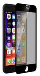 Folie Protectie Sticla Temperata Devia Privacy Full DVPVFIPH8PBK pentru iPhone 8 Plus / 7 Plus (Transparent/Negru)