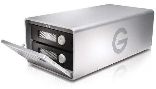 HDD Extern G-Technology G-RAID, 24TB, Thunderbolt, USB 3.1 Type-C, 3.5inch (Argintiu)