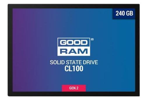 SSD Goodram CL100 Gen. 2, 2.5 inch, 240GB, SATA III 600
