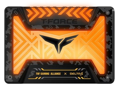 SSD TeamGroup T-Force Delta S TUF RGB, 250GB, SATA III, 2.5inch