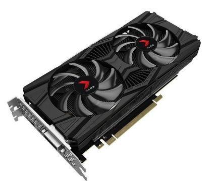 Placa video Pny GeForce RTX 2060 XLR8 OC, 6GB, GDDR6, 192-bit
