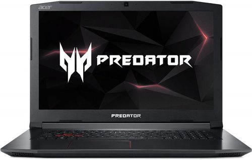 Laptop Gaming Acer Predator Helios 300 PH317-52 (Procesor Intel® Core™ i7-8750H (9M Cache, up to 4.10 GHz), Coffee Lake, 17.3inch FHD, 8GB, 1TB HDD @5400RPM + 256GB SSD, nVidia GeForce GTX 1050Ti @4GB, Linux, Negru)