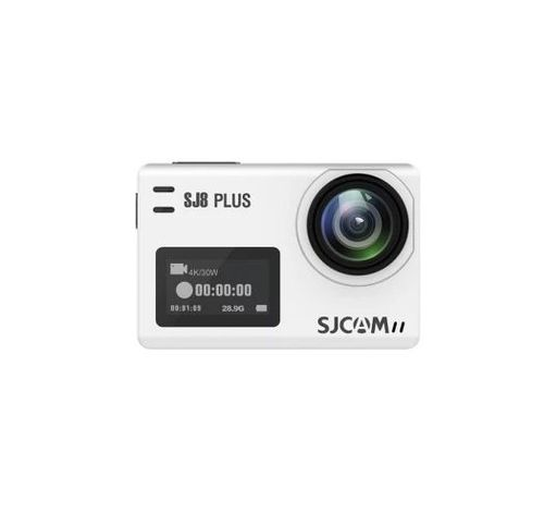 Camera video de actiune SJCAM SJ8 Plus, Ecran 2.33inch, 4K, 12MP, Wi-Fi, G-Sensor (Alb) imagine