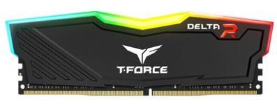 Memorie Team Group Delta RGB, DDR4, 1x8GB, 2400MHz, CL 15 (Negru)