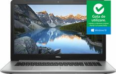 "Laptop Dell Inspiron 5770 (Procesor Intel® Core™ i3-7020U (3M Cache, up to 2.30 GHz), Kaby Lake, 17.3"" FHD, 4GB, 1TB HDD @5400RPM, Intel® HD Graphics 620, Win10 Home, Argintiu)"