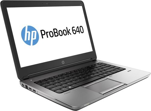 Laptop Refurbished HP ProBook 640 G1 (Procesor Intel® Core™ i5-4200M (3M Cache, up to 3.10 GHz), 8GB, 120GB SSD, Webcam, 14 inch, Intel® HD Graphics 4600)