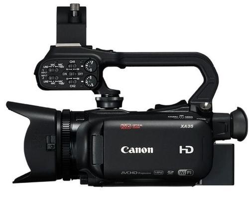 Camera Video Canon XA11, Full HD, CMOS HD Pro tip 1/2.84inch, Zoom Optic 20X (Negru)
