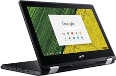 """Laptop 2in1 Acer Chromebook Spin R751TN (Procesor Intel® Celeron® N3450 (2M Cache, up to 2.20 GHz), Apollo Lake, 11.6"""", Touch, 4GB, 32GB eMMC, Intel® HD Graphics 500, Chrome OS, Negru)"""