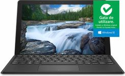 "Laptop 2in1 Dell Latitude 5290 (Procesor Intel® Core™ i5-8350U (6M Cache, up to 3.60 GHz), Kaby Lake R, 12.5"" WUXGA+, Touch, 8GB, 256GB SSD, Intel® UHD Graphics 620, Win10 Pro, Negru)"