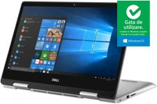 """Laptop 2in1 Dell Inspiron 5482 (Procesor Intel® Core™ i7-8565U (8M Cache, up to 4.60 GHz), 14"""" FHD, Touch, 8GB, 256GB SSD, nVidia GeForce MX130 @2GB, FPR, Win10 Home, Argintiu)"""
