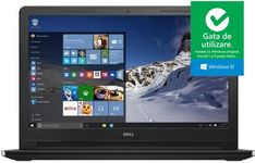 "Laptop Dell Vostro 3568 (Procesor Intel® Core™ i5-7200U (3M Cache, up to 3.10 GHz), Kaby Lake, 15.6""FHD, 8GB, 1TB HDD @5400RPM, Intel® HD Graphics 620, Win10 Pro, Negru)"