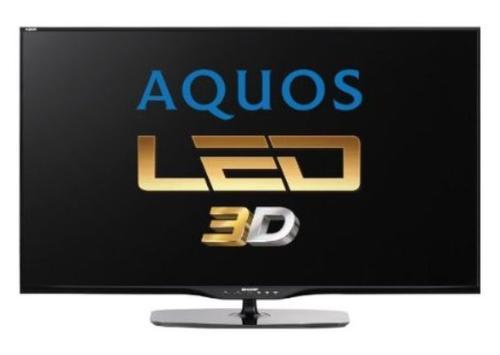 Televizor LED Sharp 152 cm (60inch) LC-60LE651E, Full HD, 3D, Smart TV, Active Motion 200, Dolby Digital Plus