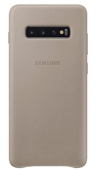 Protectie Spate Samsung EF-VG975LJEGWW pentru Samsung Galaxy S10 Plus (Gri)