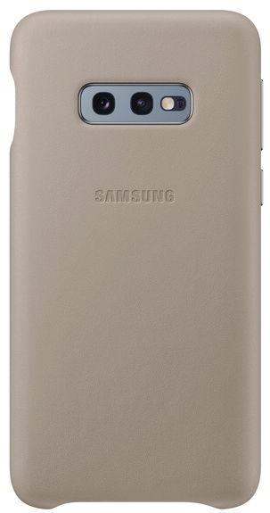 Protectie Spate Samsung EF-VG970LJEGWW pentru Samsung Galaxy S10e (Gri)