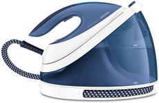 Statie de calcat Philips PerfectCare Viva GC7057/20, Talpa SteamGlide Plus, Tehnologie OptimalTemp, 2l, 2400 W (Albastru/Alb)