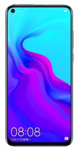 Telefon Mobil Huawei Nova 4, Procesor Kirin 970, Octa Core, IPS LCD Capacitive Touchscreen 6.4inch, 8GB RAM, 128GB Flash, Camera Tripla 20+16+2MP, 4G, Wi-Fi, Dual Sim, Android (Albastru)