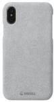 Protectie Spate Krusell Broby Cover KRS61435 pentru Apple iPhone XS (Gri)