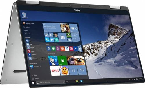 Laptop 2in1 Dell XPS 9365 (Procesor Intel® Core™ i7-8500Y (4M Cache, up to 4.20 GHz), Amber Lake Y, 13.3inch QHD+, Touch, 16GB, 512GB SSD, Intel® HD Graphics 615, FPR, Win10 Pro, Argintiu)