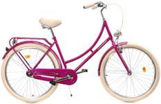 Bicicleta DHS 2632 Citadinne 2019, M - 460mm (Roz)