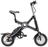 Bicicleta Electrica Pliabila Devron Folding X3, Viteza maxima 25 km/h, Autonomie 40 km, Motor250W (Negru)