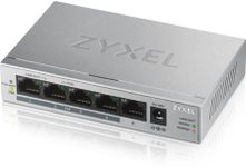 Switch ZyXEL GS1005HP-EU0101F, Gigabit, 5 Porturi, PoE+