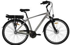 """Bicicleta Electrica Devron 28121, Cadru 19.3"""" (Gri)"""