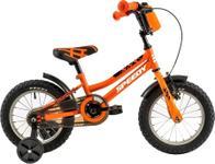 "Bicicleta Copii DHS 1401, Cadru 7.7"", Roti 14"" (Portocaliu)"