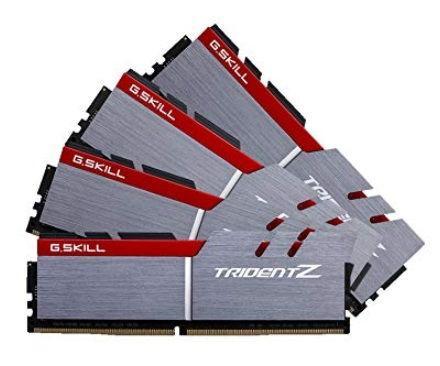 Memorie G.Skill Trident Z, DDR4, 4x4GB, 3200MHz, CL16
