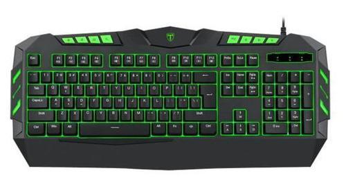 Tastatura gaming T-DAGGER Torpedo, Iluminare LED (Negru)
