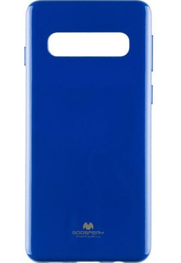 Protectie spate Star TOPJELLY_S10BL, pentru Samsung Galaxy S10 (Albastru)