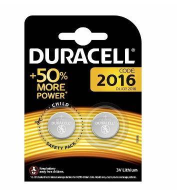 Baterie Duracell specialitati lithiu 2016, 2buc