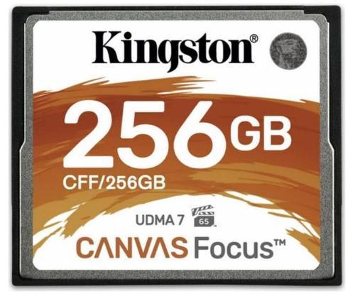 Card de memorie Kingston Canvas Focus 256GB, 150MB/s citire, 130MB/s scriere