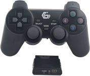 Controller Gembird JPD-WDV-01, Wireless, PC/PS2/PS3 (Negru)
