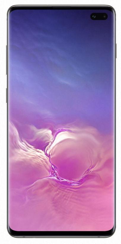 Telefon Mobil Samsung Galaxy S10 Plus, Dynamic AMOLED Capacitive touchscreen 6.4inch, 12GB RAM, 1TB Flash, Camera Tripla 12+12+16MP, 4G, Wi-Fi, Dual SIM, Android (Negru Ceramic)