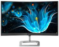 "Monitor VA LED Philips 23.6"" 248E9QHSB, Full HD (1920 x 1080), VGA, HDMI, Ecran curbat, 75 Hz (Negru/Argintiu)"