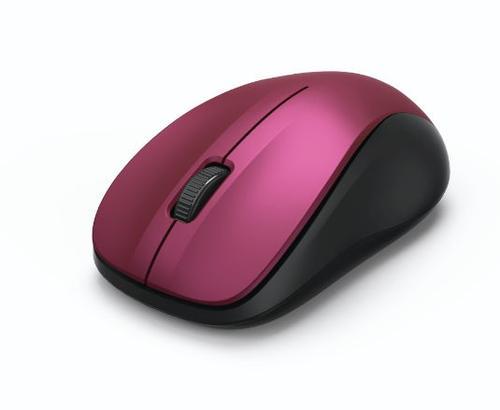 Mouse Wireless HAMA MW-300, 1200 dpi (Roz)