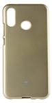 Protectie Spate Star JELLYCASE_P20LG pentru Huawei P20 Lite (Auriu)